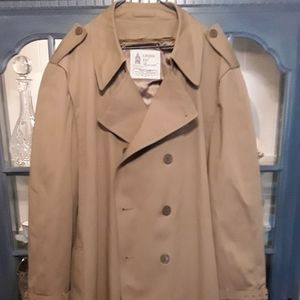 Mens Vintage London Fog Trenchcoat